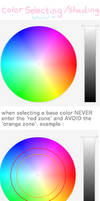 color selecting+shading tutorial