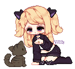 YCH meow-ing by lunacybunny