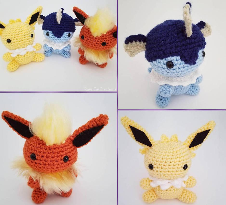 28 Crochet Pokémon Patterns - The Funky Stitch   852x938