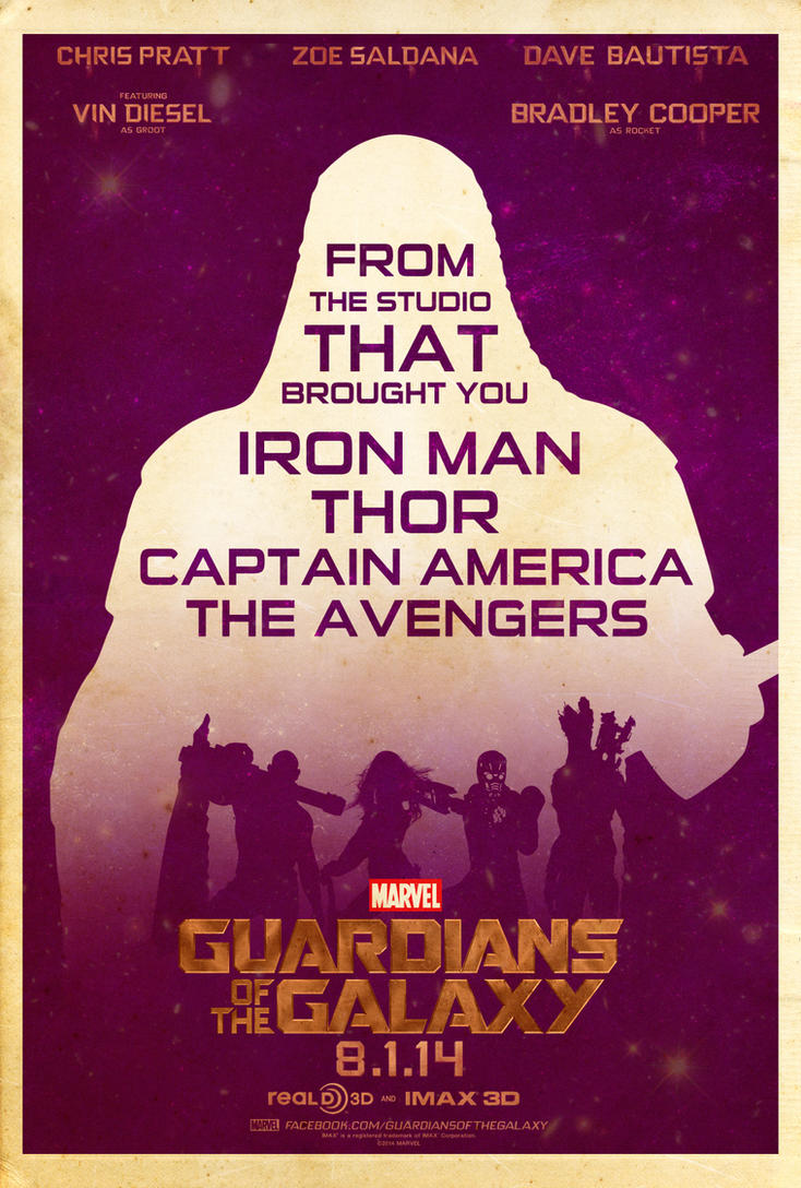 guardians of the galaxy vector poster by touchboyjhero on