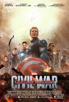 Captain America: Civil War Poster by TouchboyJ-Hero