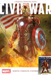 Marvel's Civil War Cover Recreated