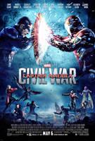 Captain America: Civil War - Poster by TouchboyJ-Hero