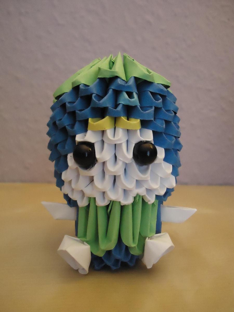 3D Origami - Blueberry Boy - 1