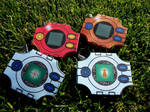 [Digimon] Digivices - Papercraft