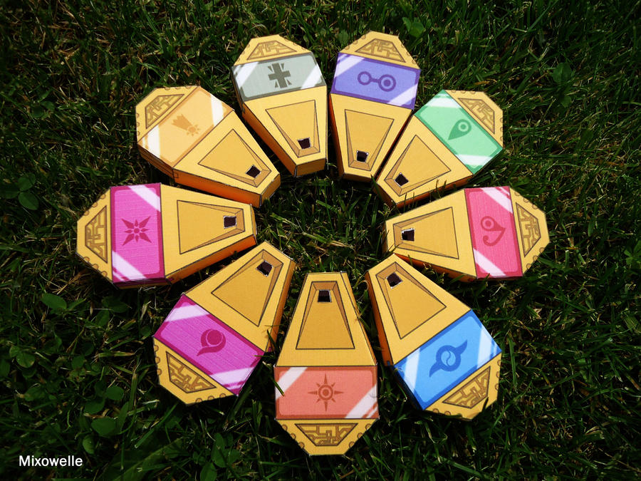 Digimon Digivice Papercraft Digimon All Seasons Digivices