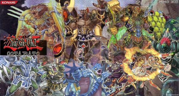Gladiator beast Gamemat by harrish