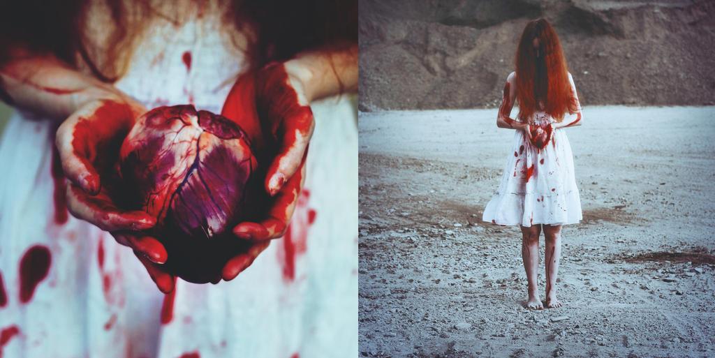 Broken heart by eemotional
