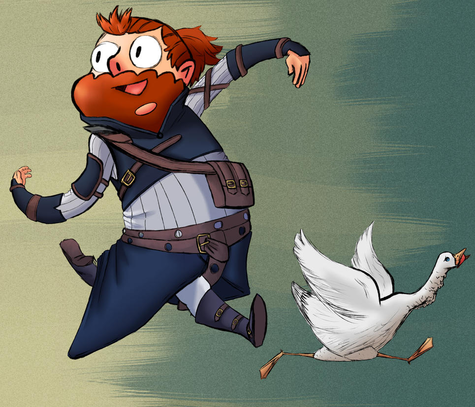 Jesse And Goose by Popinsez