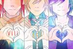 8 13 14/3 : Three Hearts Are One