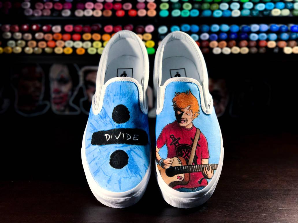 c28396c4fa5ce6 Ed Sheeran Custom Vans by Nykeria on DeviantArt