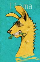 Hot Llama by Azawindam