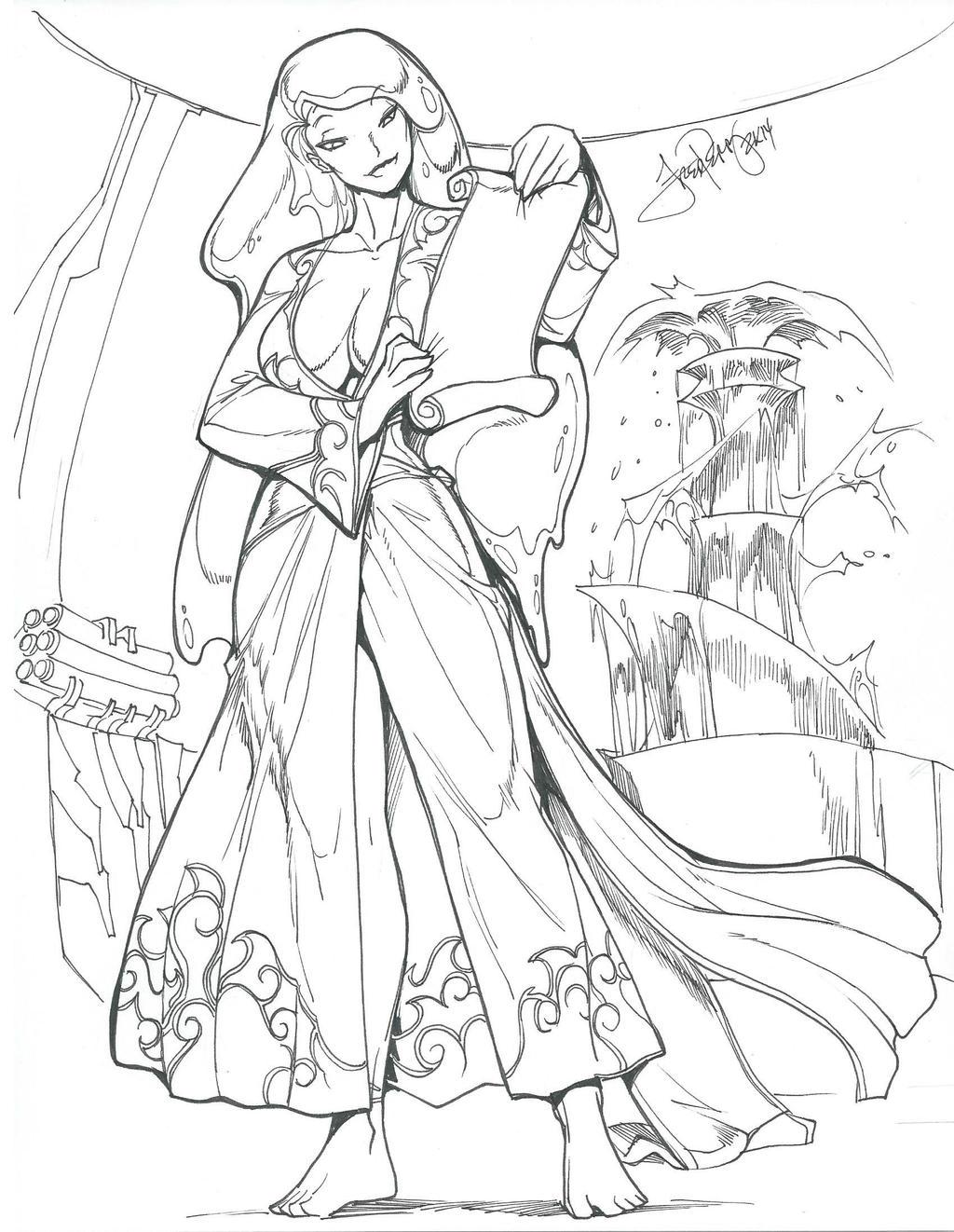 Levitha, Elder of Sapphire