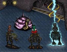 Final Fantasy 6 Boss by JediMichael