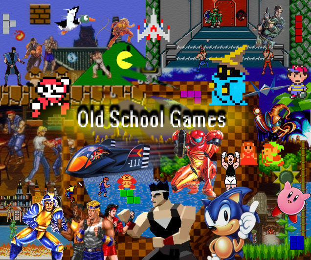 free old school games