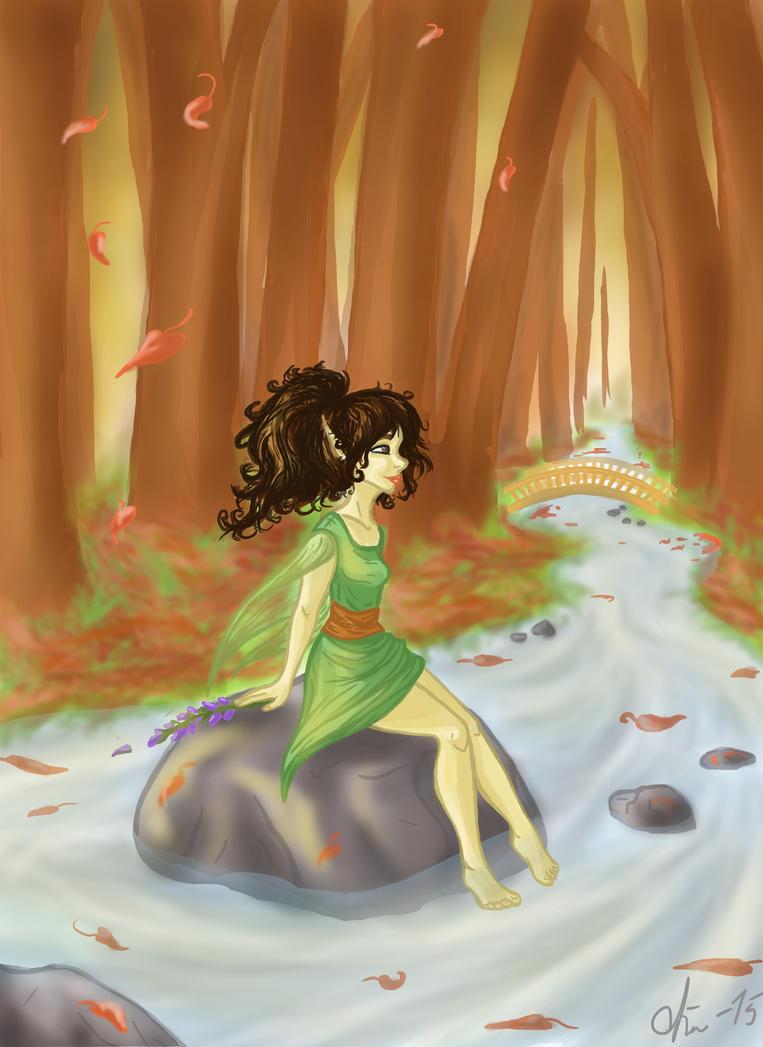 Falling leaves by Niittylilja