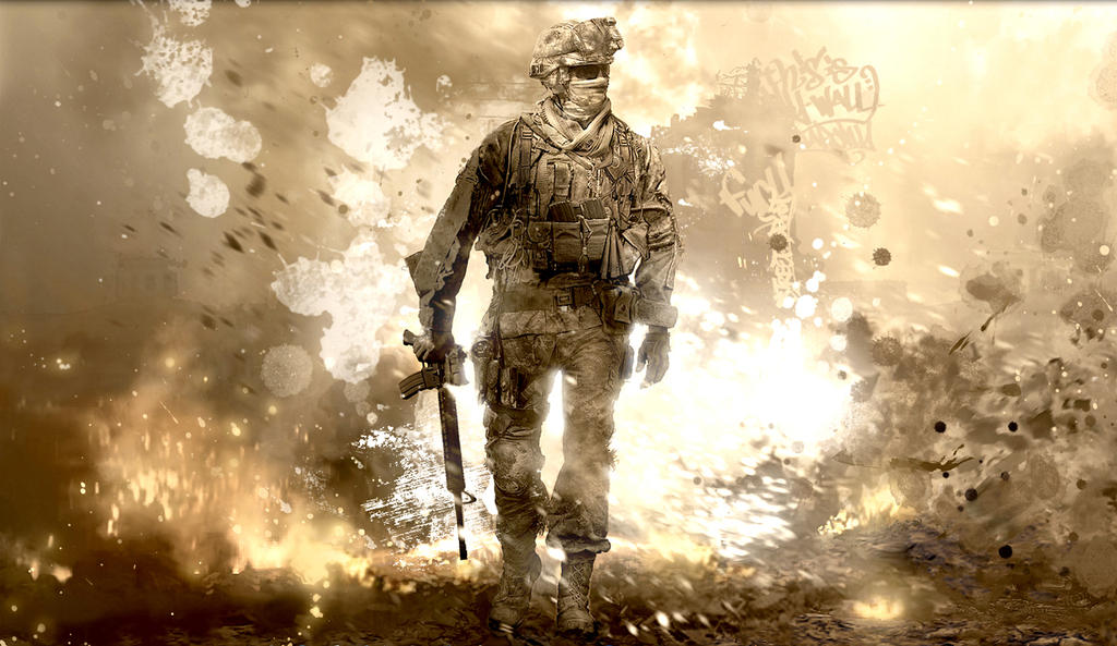 Call of Duty Modern Warfare 2 by PortratESeveN