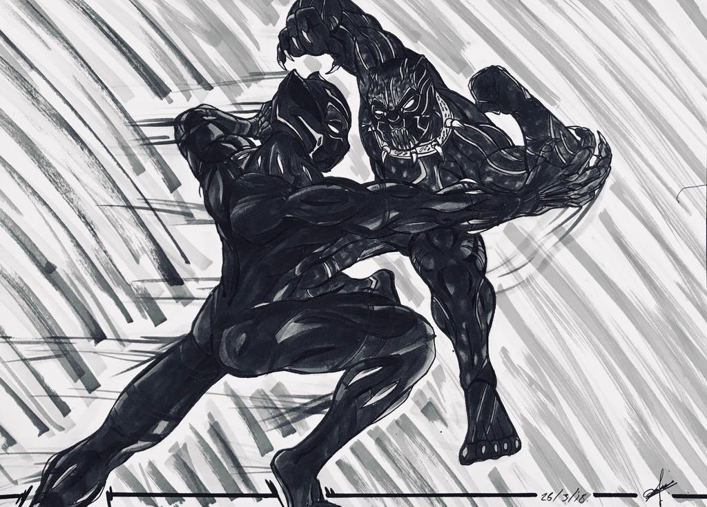Black Panther By Portela On Deviantart: Bazzhunter (andres Avila Peralta)