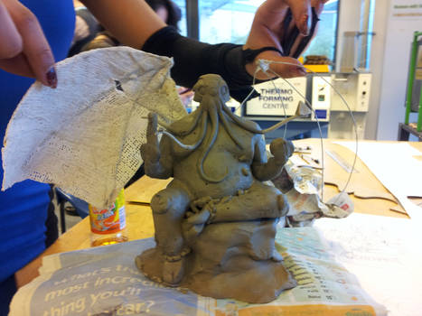 Horror in Clay project