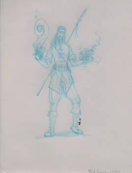 Commission - Malek the Warlock
