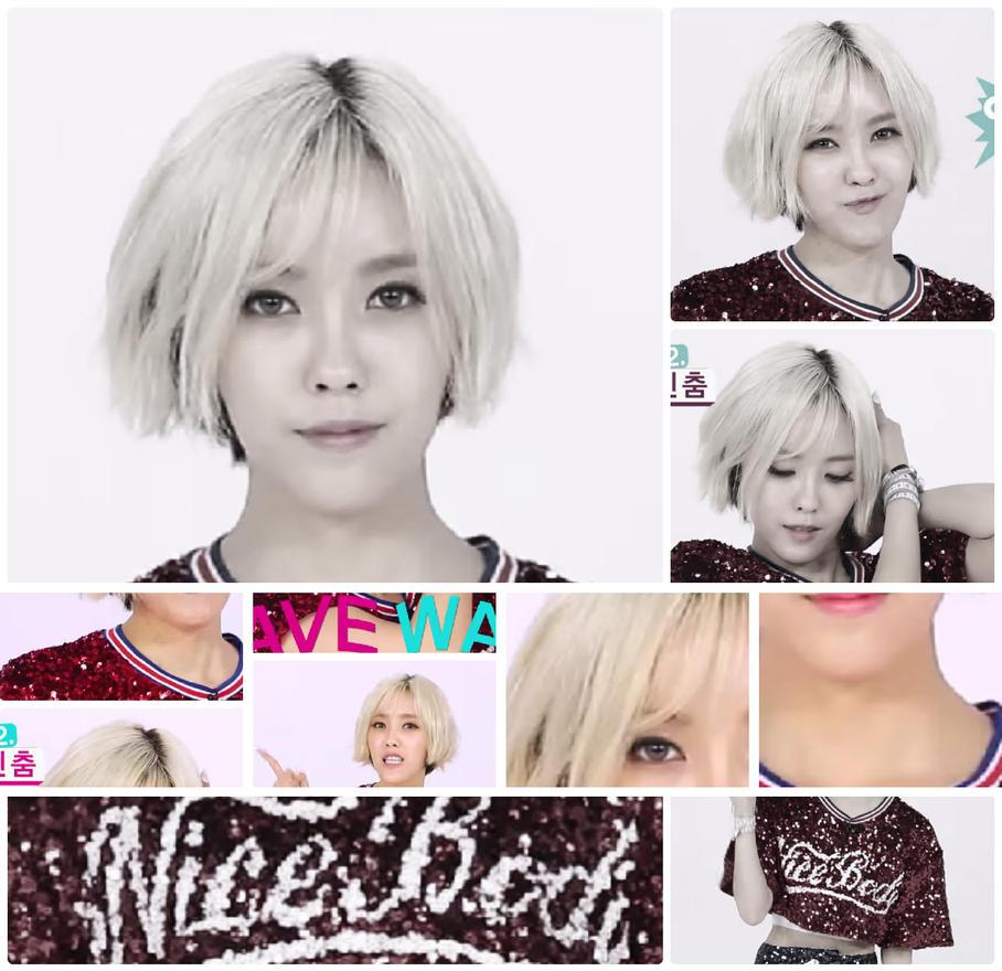 Hyomin Nice Body Hair