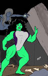 She Hulk in Danger