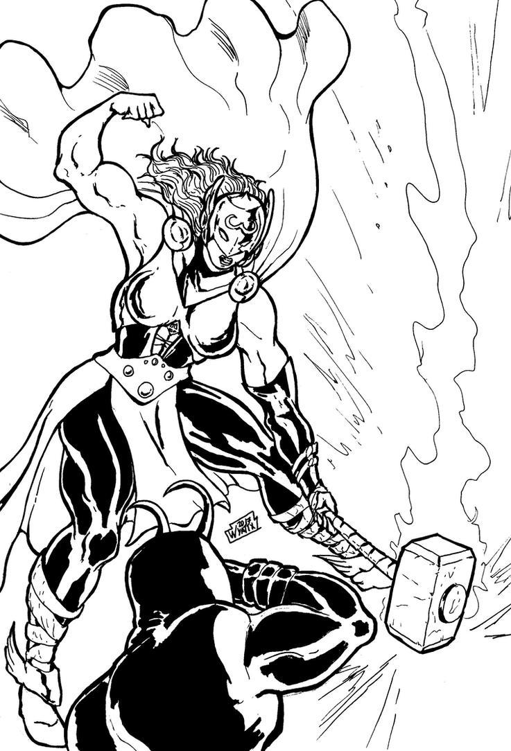 Thor (Jane Foster) by wyattx