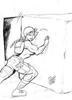 Lara Croft by wyattx
