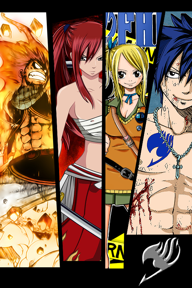 Fairy Tail Wallpaper for iPhone and iTouch by dotKustomize