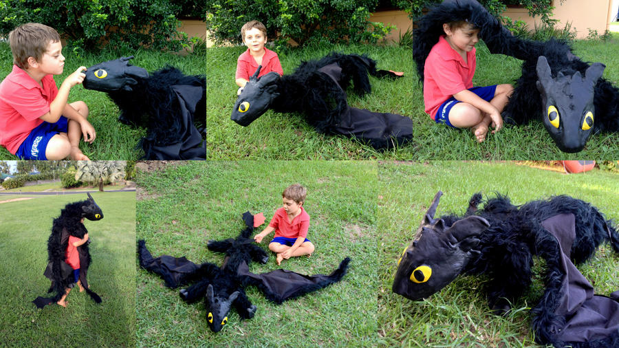 Giant Toothless Poseable! by SonsationalCreations