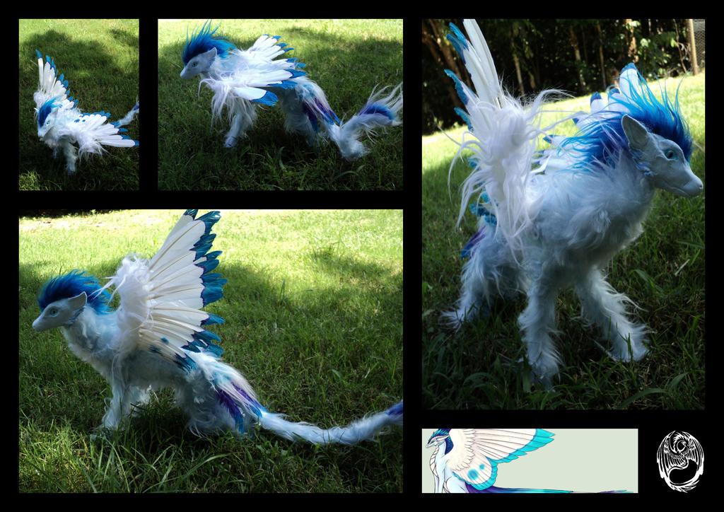 Sierra - OOAK Handmade Dragon Poseable by SonsationalCreations