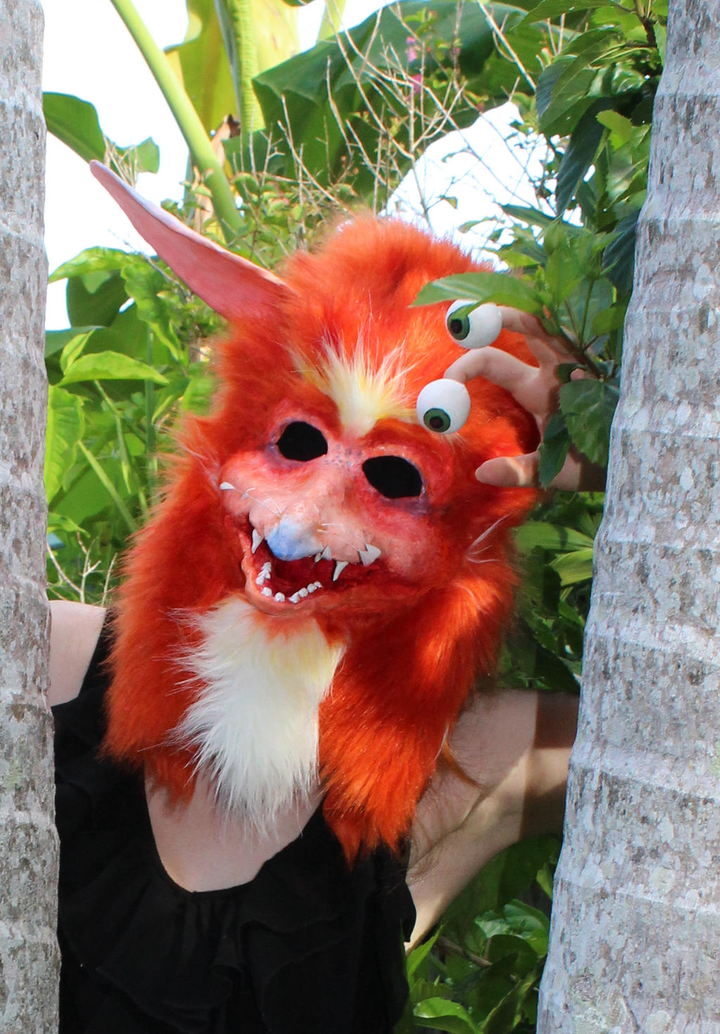 Hi there - Firey Mask Commission - Labyrinth by