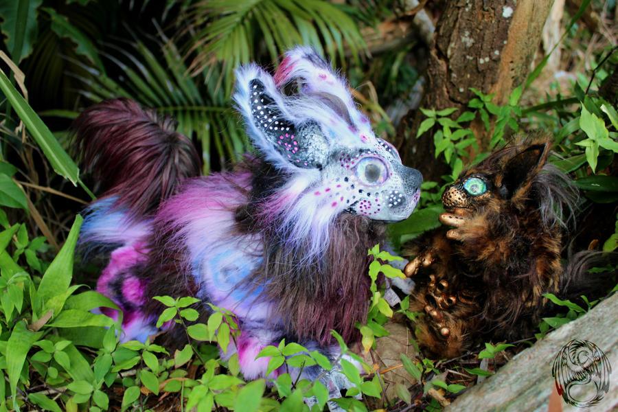 Family - Handmade OOAK Poseable Art Doll