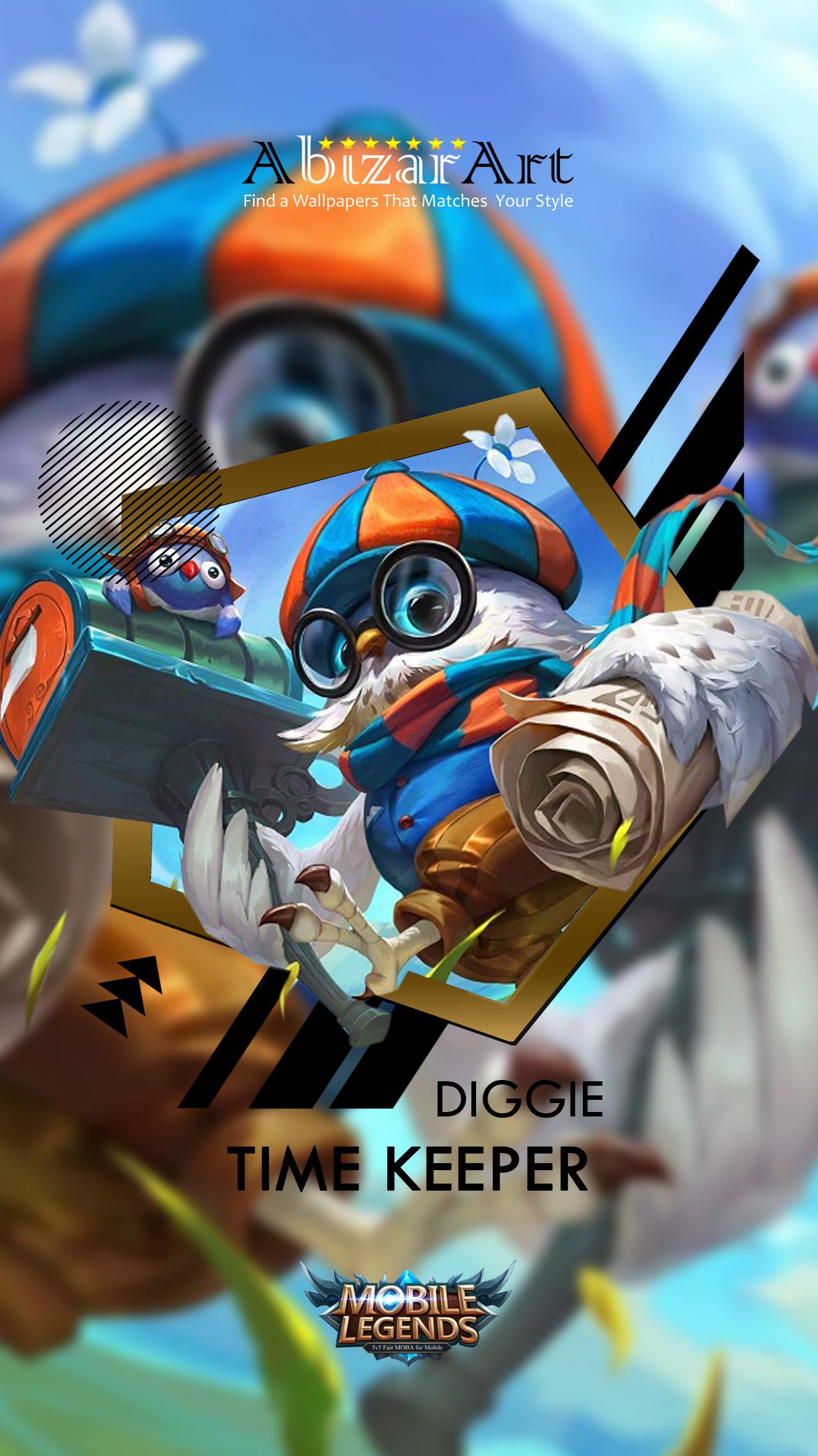 Diggie Time Keeper By Abizarartwallpapers On Deviantart
