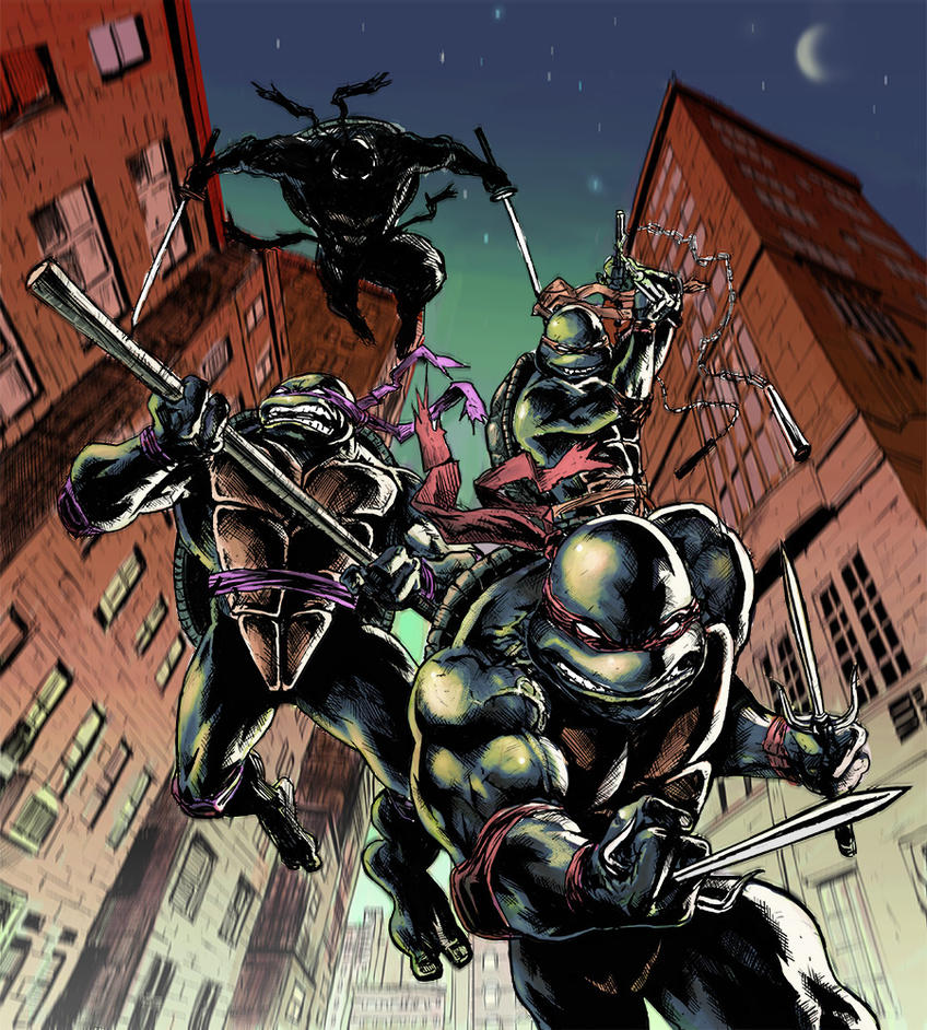 Ninja turtles by sinakazemian
