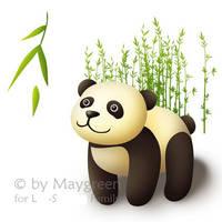 Baby Panda by Maygreen