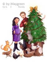 Christmas 2009 by Maygreen