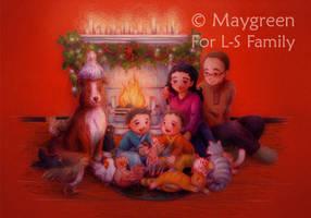 Christmas 2010 by Maygreen