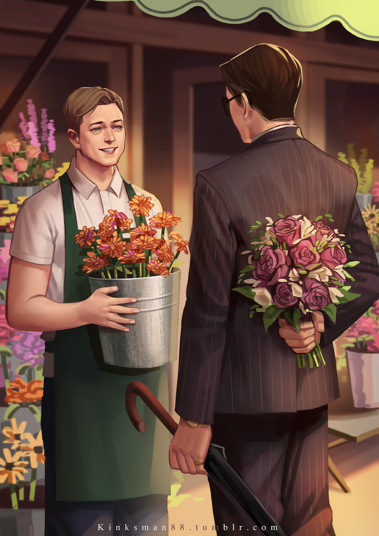 The florist and the tailor by rachelhuey88