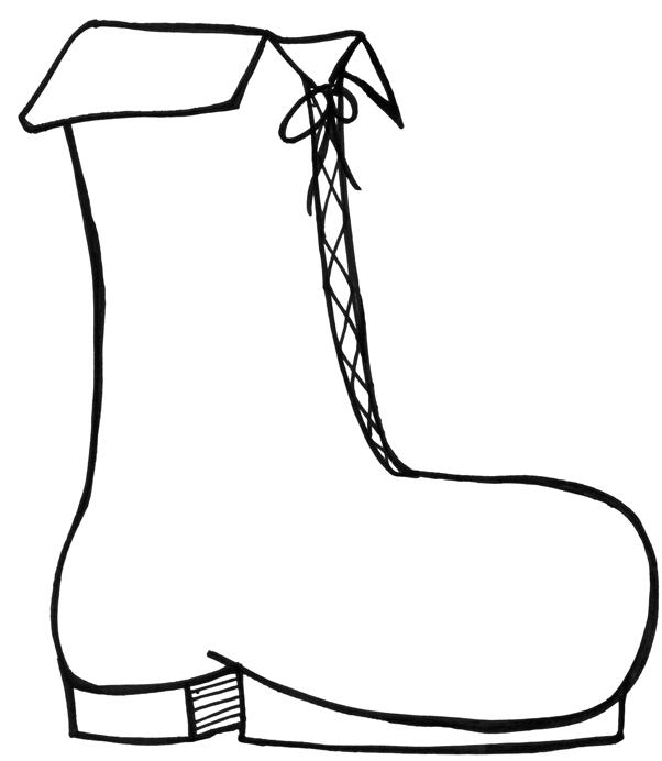 Old Woman's Shoe - Lineart by SilverEmerald-DAS