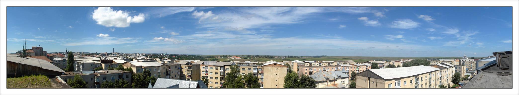 Botosani - Panorama Grivita