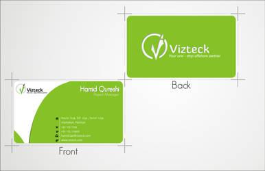 Vizteck Solution Vcard Design