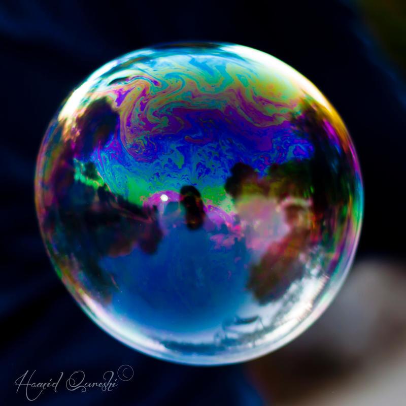 Rainbow Globe by HamidQureshi