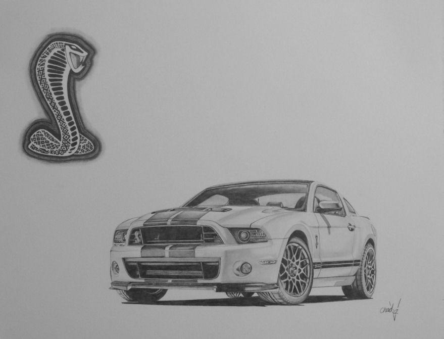 2013 Ford Mustang Gt500 Cobra By Chadvstudio On Deviantart