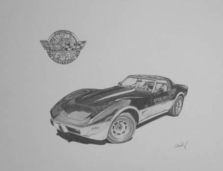1978 Chevrolet Corvette Indiannapolis Pace car