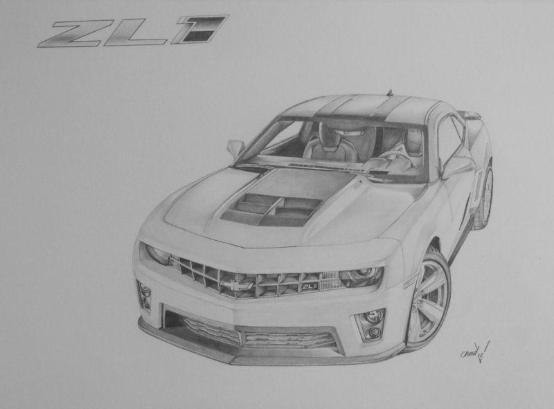 2013 ZL1 Camaro by chadvstudio on DeviantArt