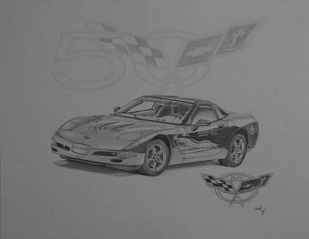 2002 Chevrolet Corvette Indiannapolis 500 pace car