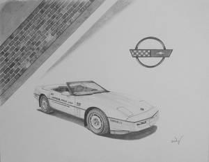 1986 Chevrolet Corvette Indainnapolis 500 pace car