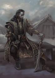 Janissary Ezio by sunsetagain
