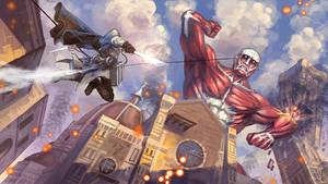 Assassin's Attack On Titan